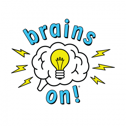 Thumbnail image of the Brains On podcast logo