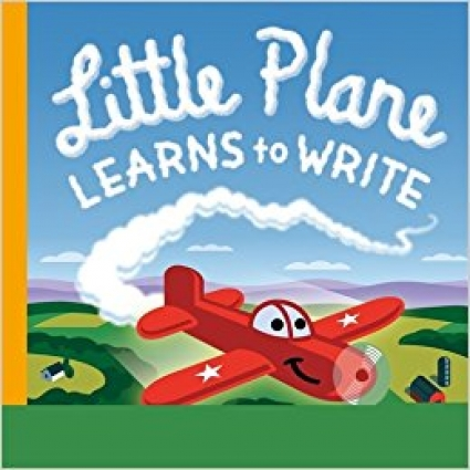 Book Cover of Little Plane Learns to Write