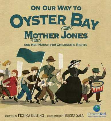 Cover of On Our Way to Oyster Bay by Monica Kulling