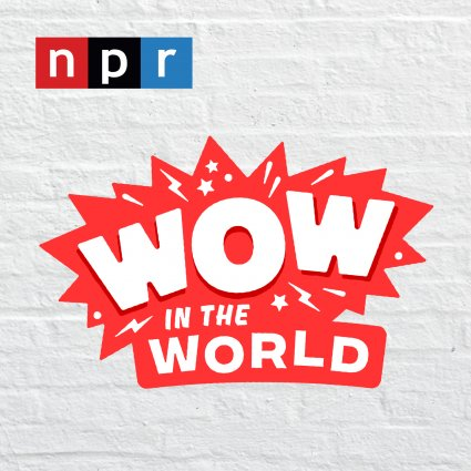 Thumbnail image of the Wow in the World podcast logo