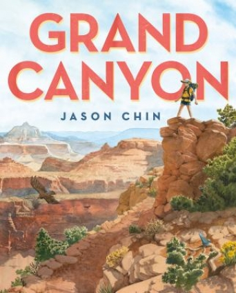 Book cover for Grand Canyon by Jason Chin