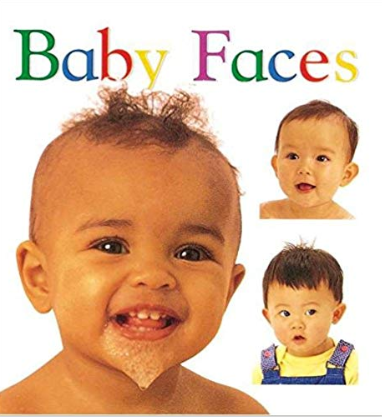 Cover of Baby Faces boardbook