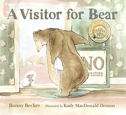 Book cover with bear and mouse
